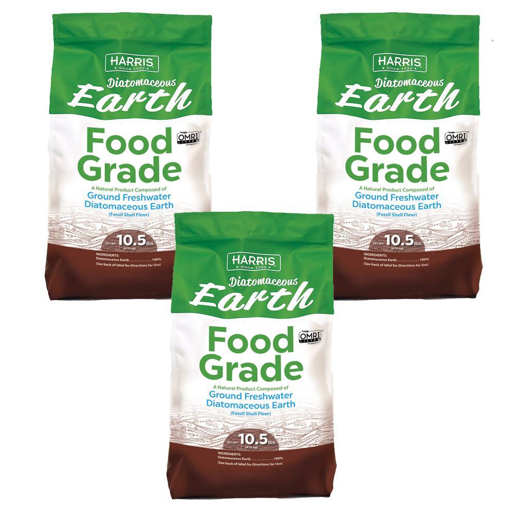 10.5 lbs. Diatomaceous Earth Food Grade 100% (3-Pack )