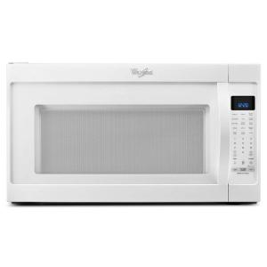 Over The Range Microwave In White With Sensor Cooking