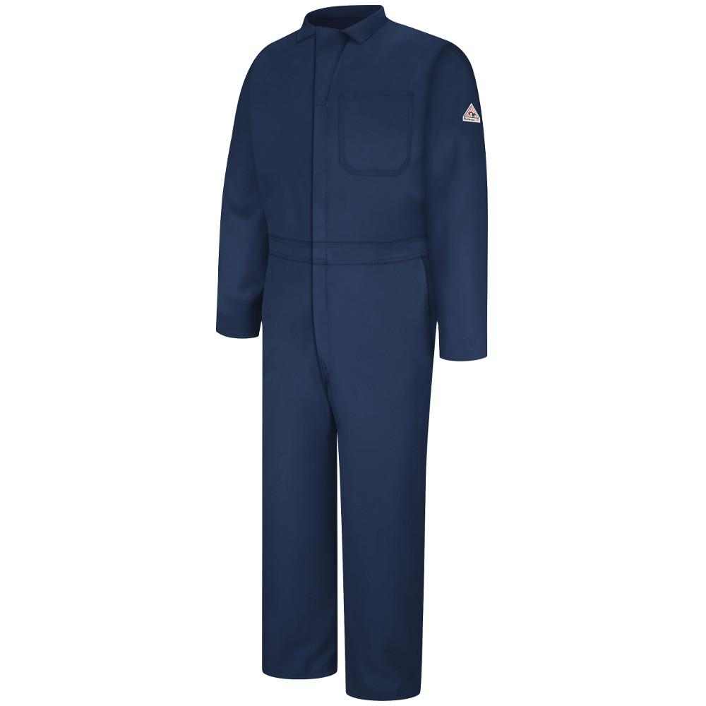 99fd86dff54d Bulwark Nomex IIIA Men s Size 44 (Tall) Navy Classic Coverall-CNC2NV ...