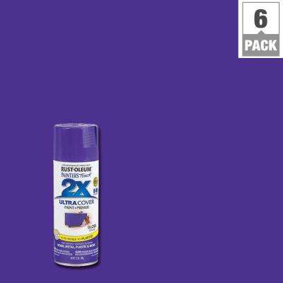 12 oz. Grape Gloss General Purpose Spray Paint (6-Pack)
