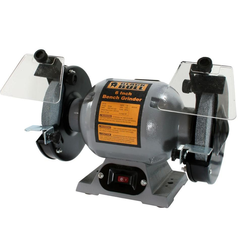 Grinding Wheel Included Bench Grinders Grinders The Home Depot
