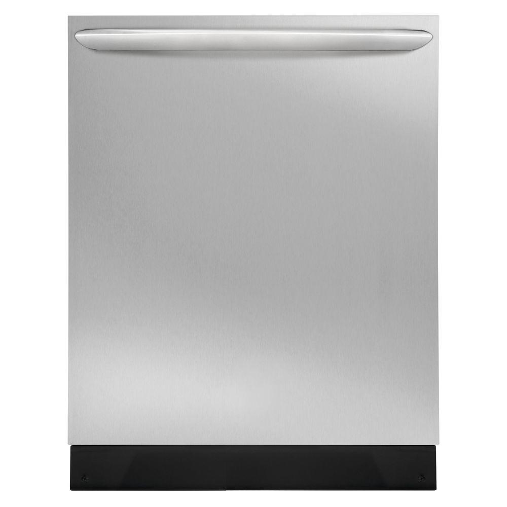 Top Control Built-In Tall Tub Dishwasher in Smudge-Proof Stainless Steel with