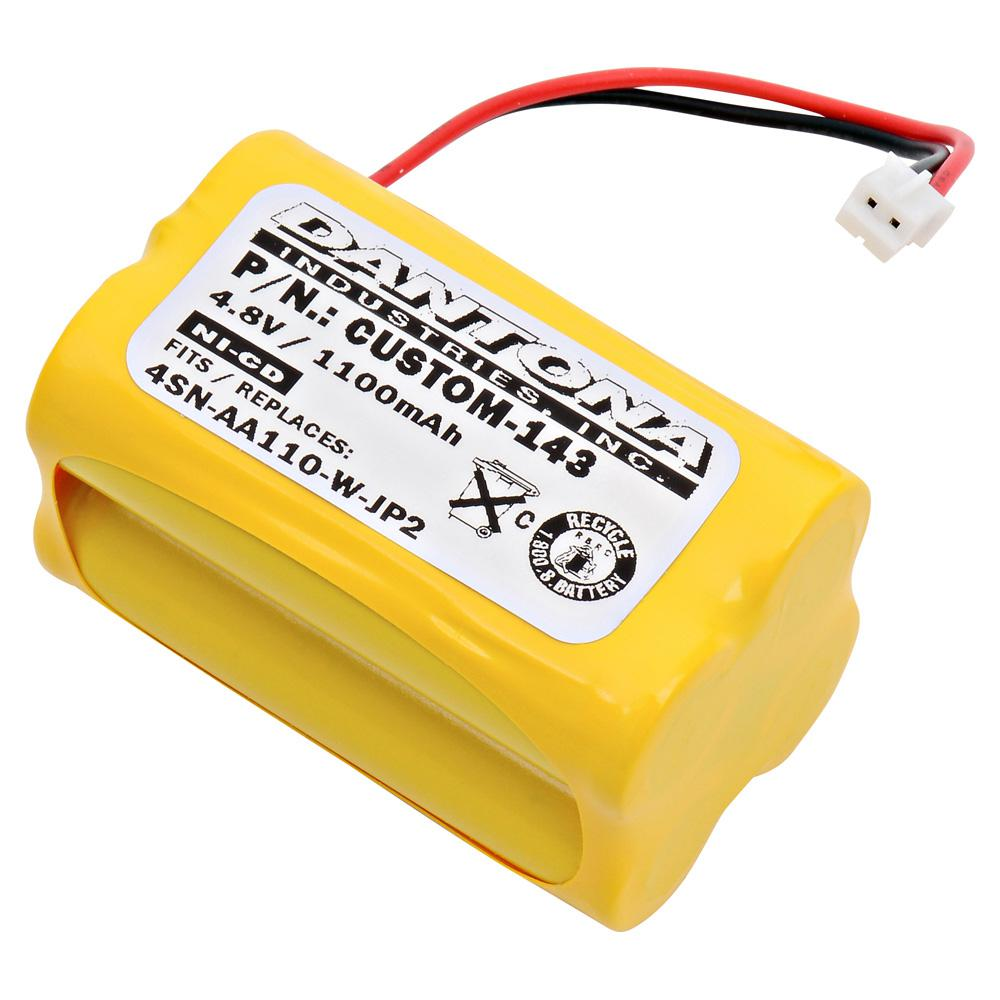 Ultralast Dantona 4.8-Volt 1100 mAh Ni-Cd battery for Sum...