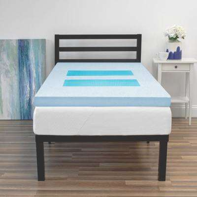 3 in. Full Memory Foam GelMax Mattress Topper