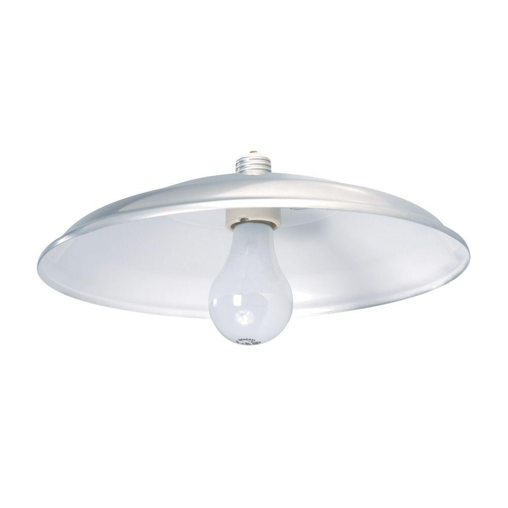 Aspects Farm and Home 1-Light 12 in. Silver Retrofit Worklight