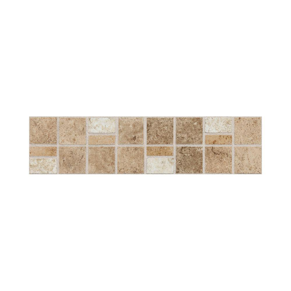 Daltile Fidenza Universal 3 in. x 12 in. Glazed Porcelain Accent ...