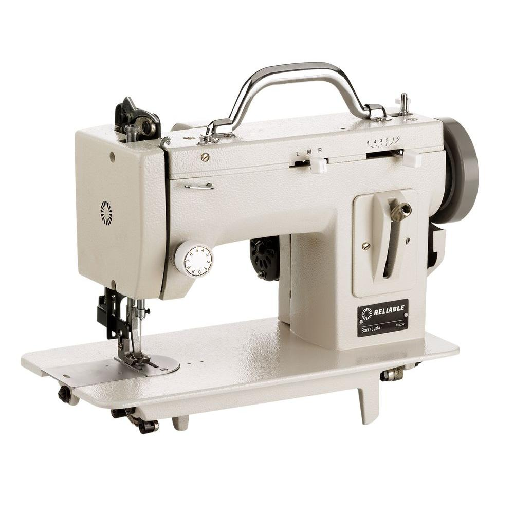 Reliable Barracuda Sewing Machine, White