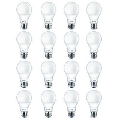 40-Watt Equivalent A19 Dimmable LED Light Bulb Soft White Warm Glow (16-Pack)