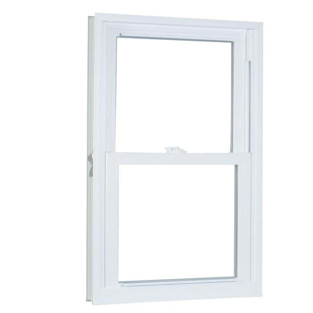 23.75 in. x 61.25 in. 70 Series Pro Double Hung White
