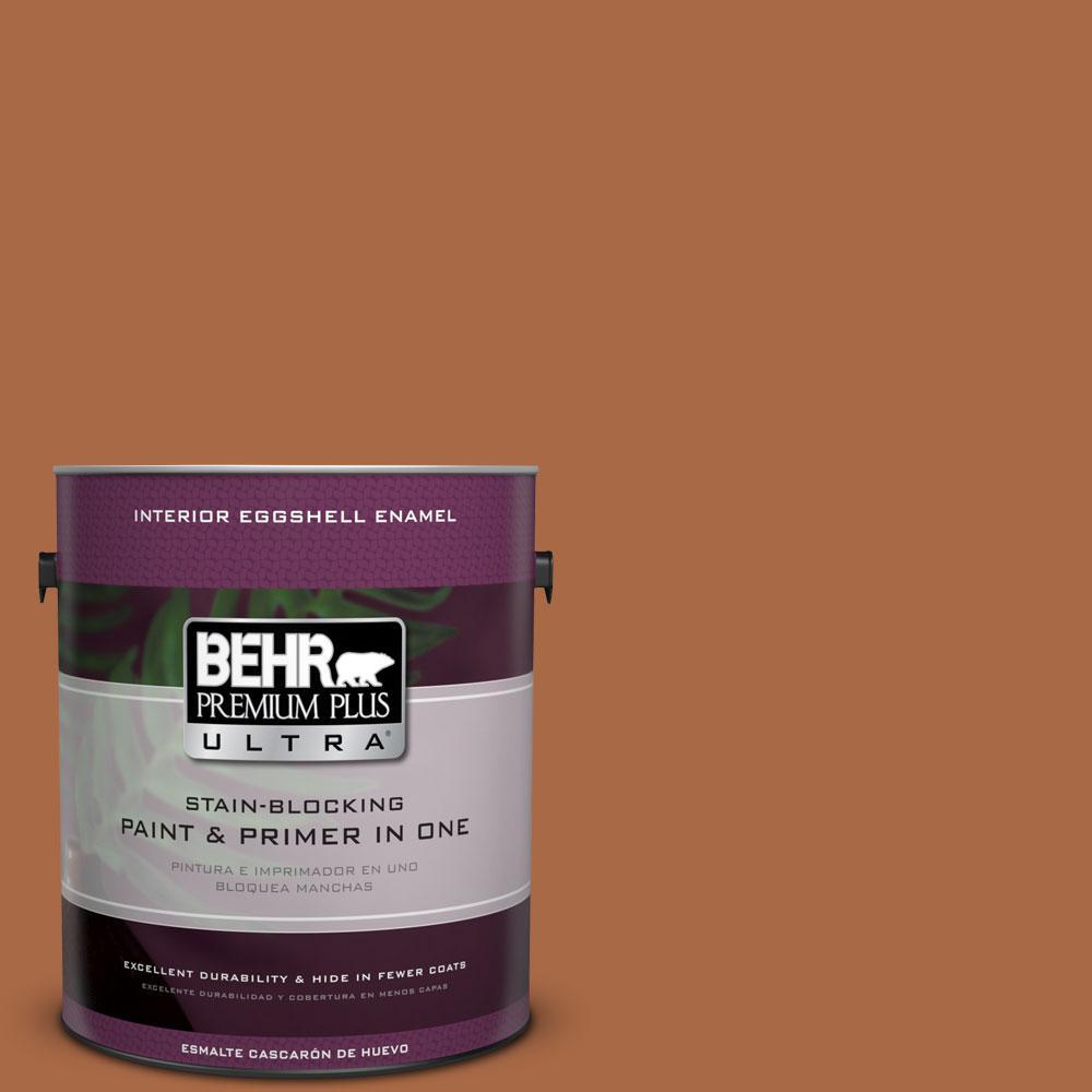 BEHR Premium Plus Ultra 1-Gal. #PPU3-16 Maple Glaze Eggshell Enamel Interior Paint