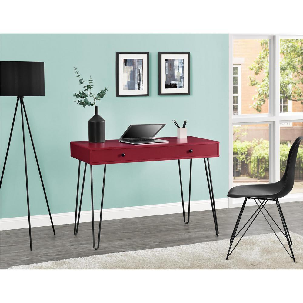 Altra Furniture OWen Red Desk by Altra Furniture