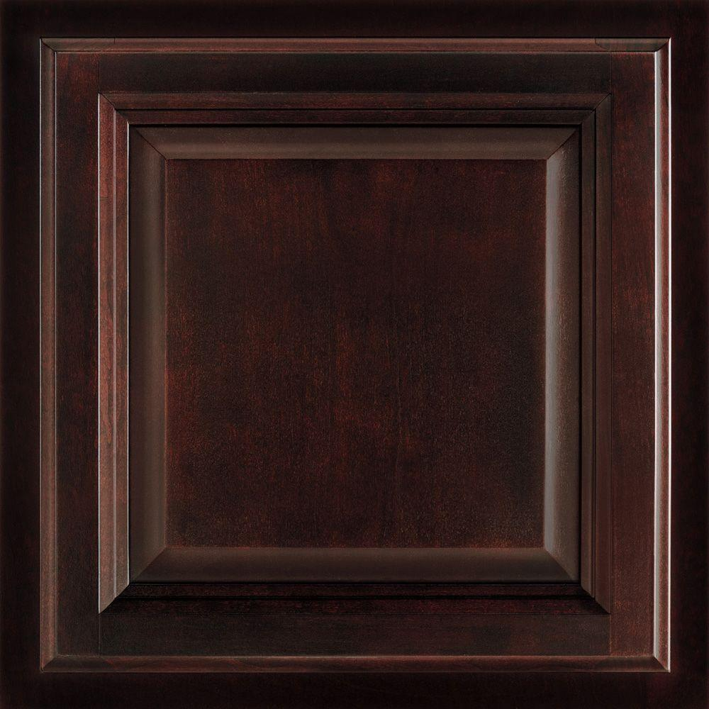Cherry Kitchen Cabinet Doors: American Woodmark 12-7/8 In X 13 In. Cabinet Door Sample