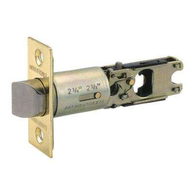 2-Way Replacement Passage/Privacy Latch in Polished Brass