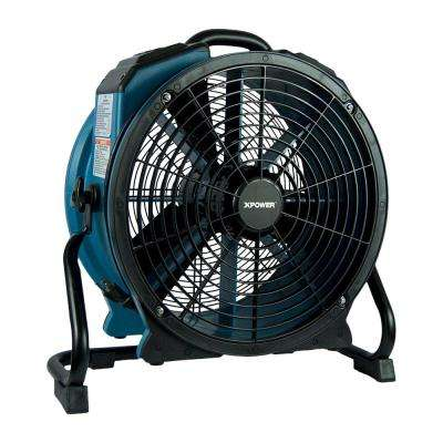 3600 CFM Professional 18 in. Variable Speed Sealed Motor Axial Fan with Timer and Daisy Chain