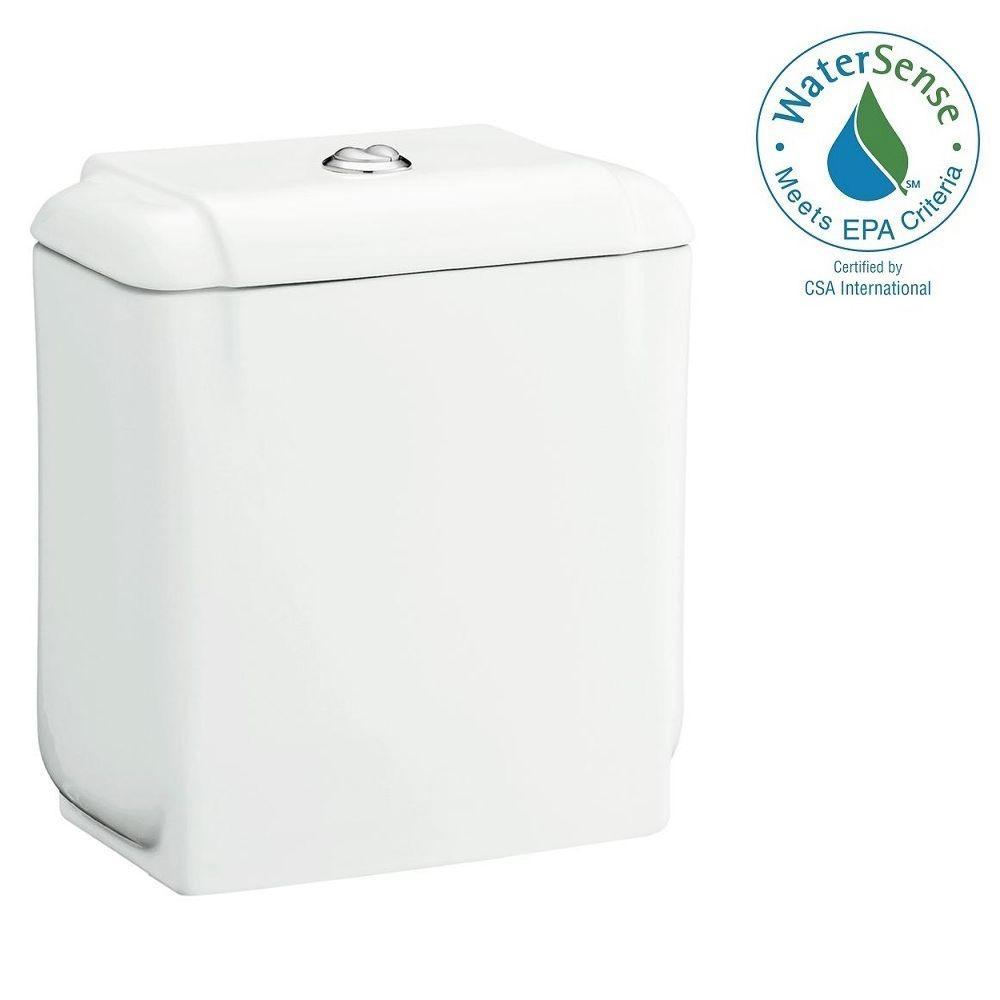 STERLING Rockton 1.1 GPF Single Flush Toilet Tank Only in White