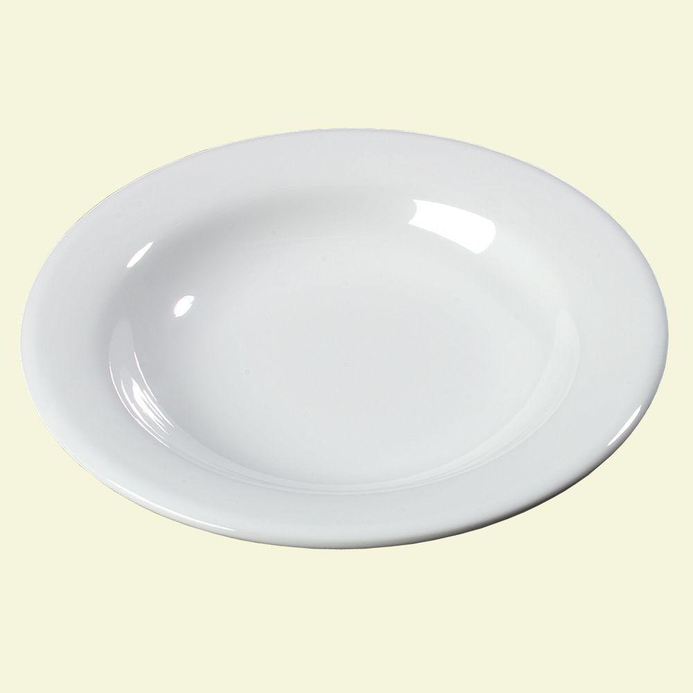 Carlisle 13 oz., 9.25 in. Diameter Melamine Pasta, Soup and Salad