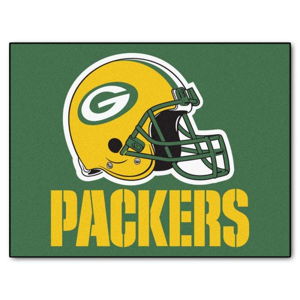Green Bay Packers 3 ft. x 4 ft. All-Star Rug