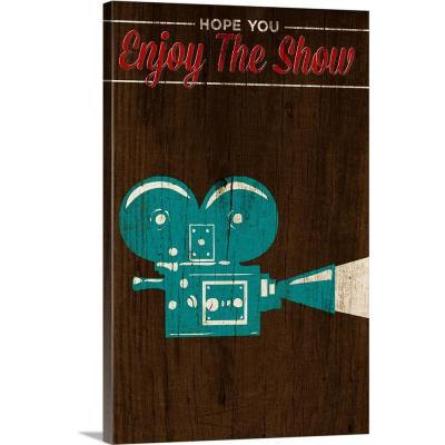 """""""Enjoy the Show (Camera)"""" by SD Graphics Studio Canvas Wall Art"""