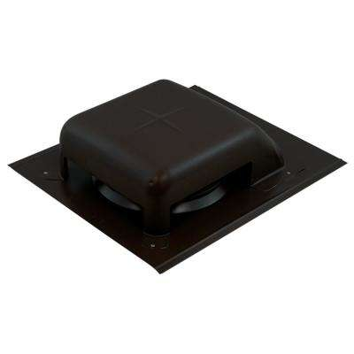 40 sq. in. NFA Galvanized Slant-Top Roof Louver Static Vent in Black (Sold in Carton of 9 only)