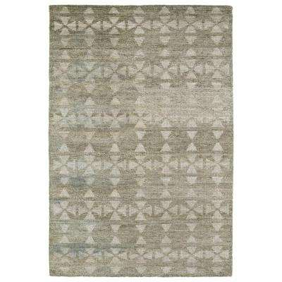 Solitaire Oatmeal 5 ft. x 7 ft. 9 in. Area Rug