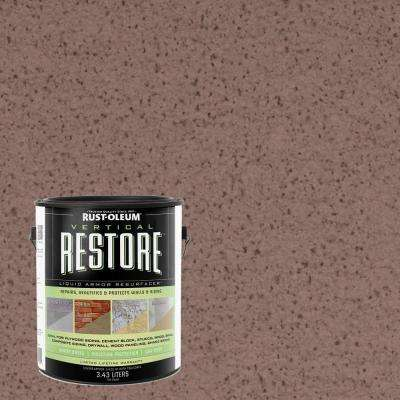 1-gal. Clay Vertical Liquid Armor Resurfacer for Walls and Siding
