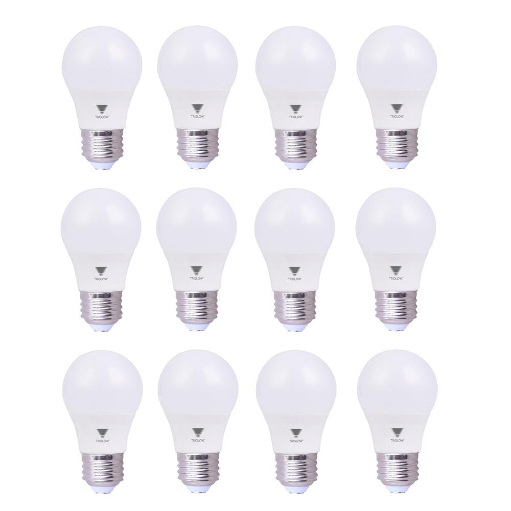 6.5-Watt A15 LED Appliance Light Bulb Daylight (12-Pack)