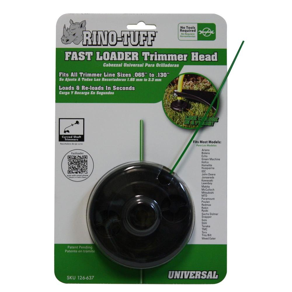 Rino-Tuff Fast Loader String Trimmer Head for Gas Trimmers-DISCONTINUED