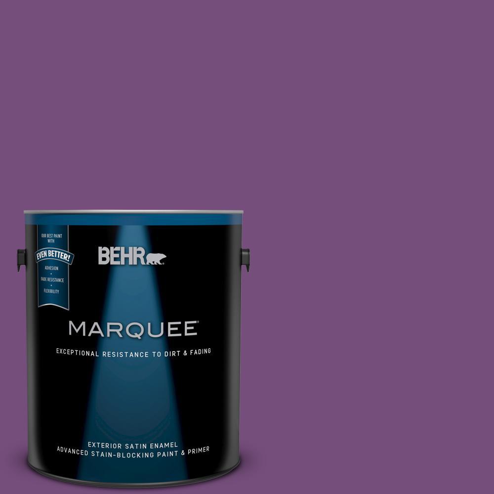BEHR MARQUEE 1-gal. #MQ4-62 Birthstone Satin Enamel Exterior Paint