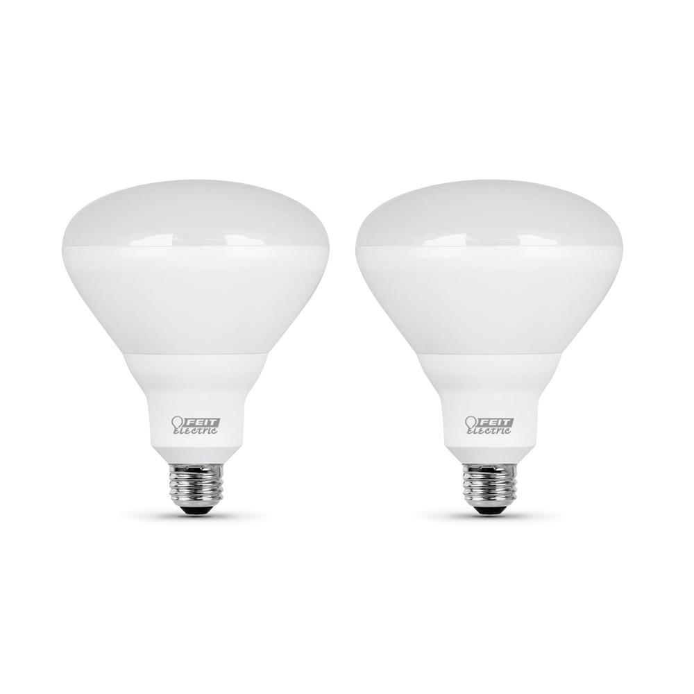 65W Equivalent Soft White (2700K) BR40 Dimmable CEC Title 24 Compliant