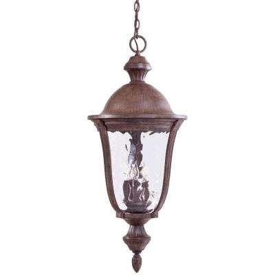 Ardmore Vintage Rust 5-Light Hanging Outdoor Lantern