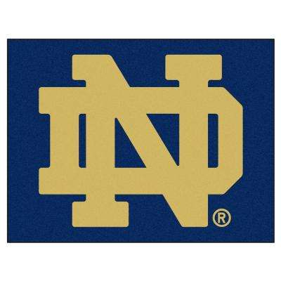 Notre Dame University 3 ft. x 4 ft. All-Star Rug