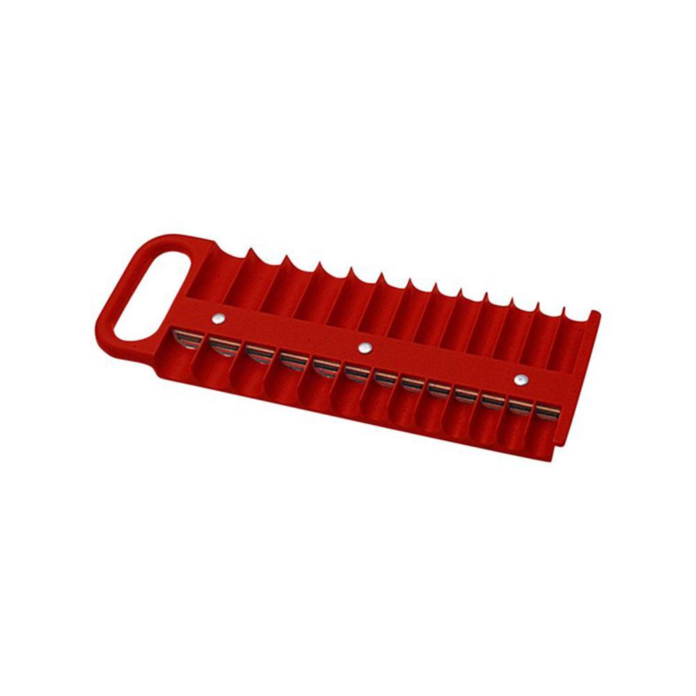 Metric Magnetic Socket Holder Organizer Saver Tool Box Storage Rack Tray 26 Pcs
