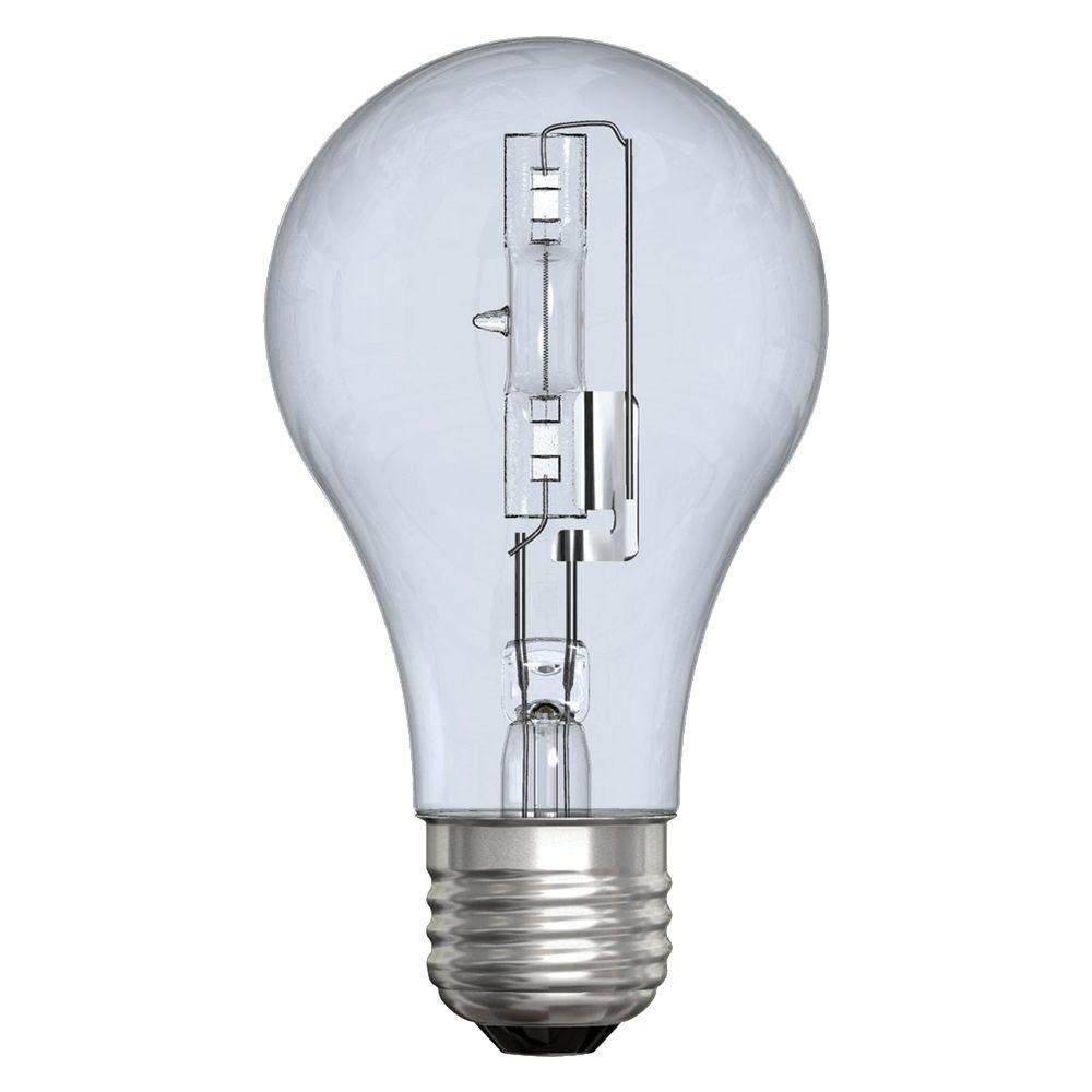 ge reveal 60 watt incandescent a19 reveal clear light bulb. Black Bedroom Furniture Sets. Home Design Ideas