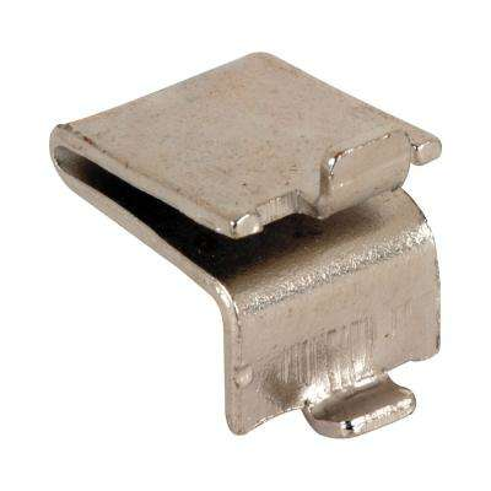 Nickel Plated Metal Strip Lock Style Shelf Support (8-Pack)