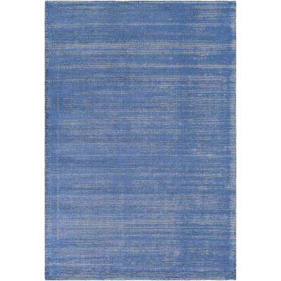 Emori Sky Blue 6 ft. x 9 ft. Area Rug