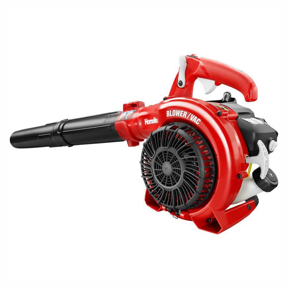 Homelite Reconditioned 150 MPH 400 CFM 26cc Gas Handheld Blower Vacuum