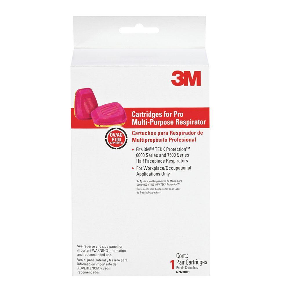 Professional Multi-Purpose Replacement Respirator Cartridges