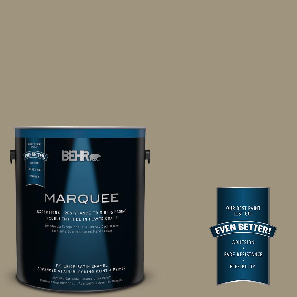 BEHR MARQUEE 1-gal. #760D-5 Shortgrass Prairie Satin Enamel Exterior Paint