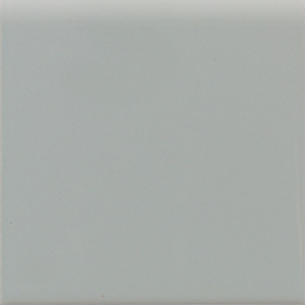 Semi-Gloss Desert Gray 4-1/4 in. x 4-1/4 in. Ceramic Surface Bullnose