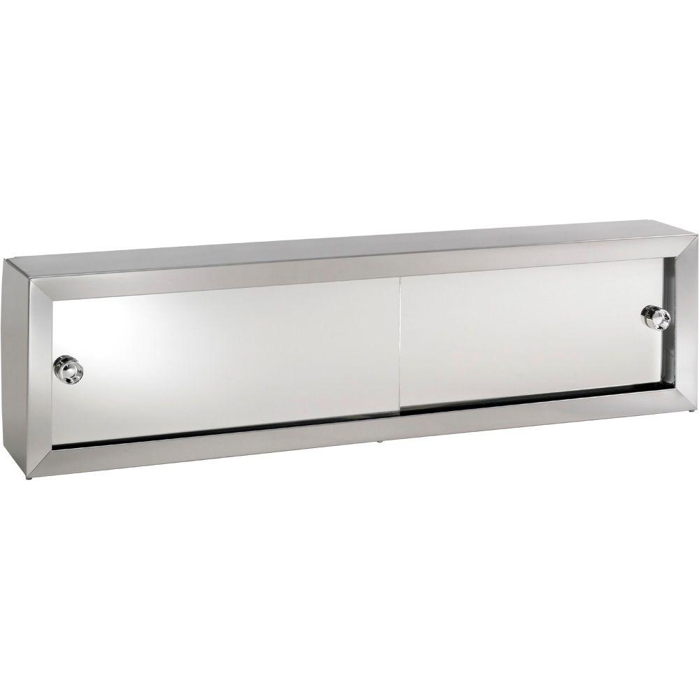 null Cosmetic Box 24-1/4 in. W x 8.75 in. H x 4.25 in. D Surface-Mount Bathroom Medicine Cabinet