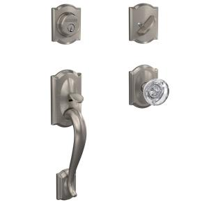 Electric Cabinets 1//4 Turn Arch Handle Lock Silver Tone w Plate
