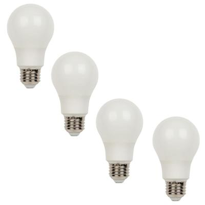 60W Equivalent Bright White Omni A19 Dimmable LED Light Bulb (4-Pack)
