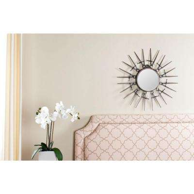 Compass Point 23 in. x 23 in. Framed Mirror