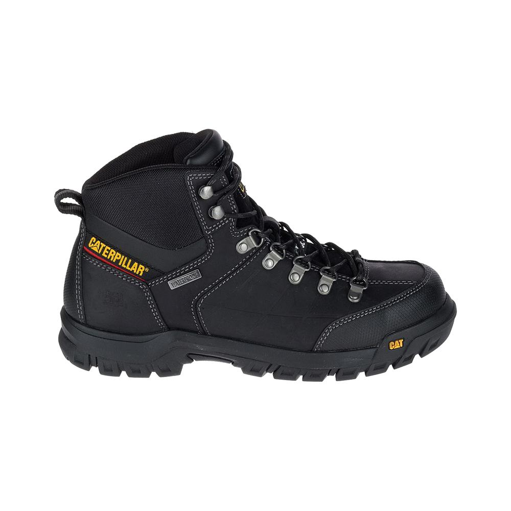 e6406cafa38 CAT Footwear Threshold Men's Size 11M Black Waterproof Steel Toe Boots