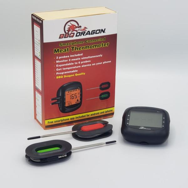 6-Probe Wireless Thermometer (2 Probes included)