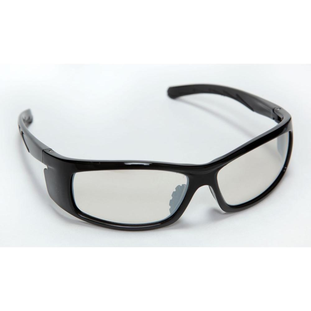 Cordova Vendetta Safety Glasses Black Full Nylon Frame Indoor/Outdoor Lens