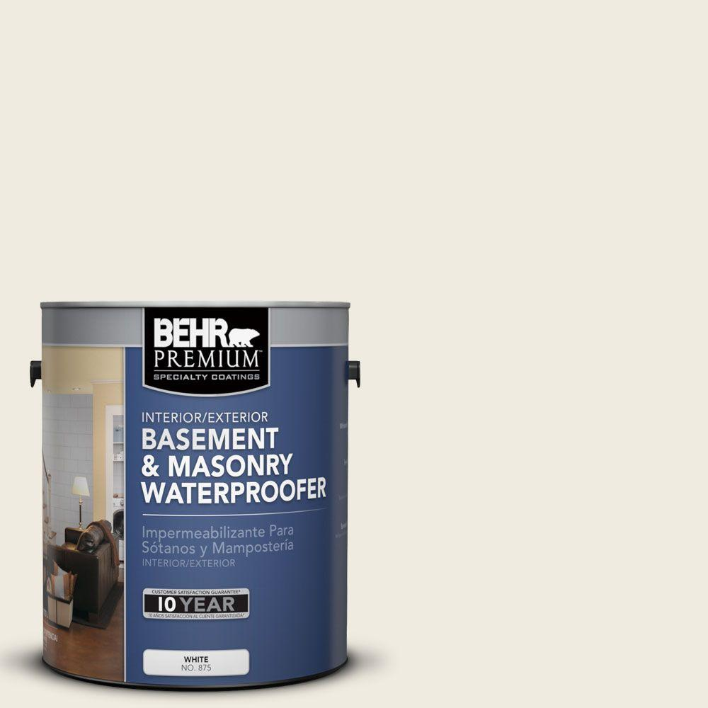 BEHR Premium 1 gal. #BW-58 Rice Barley Basement and Masonry Waterproofer