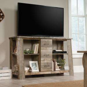 Boone Mountain Rustic Cedar Entertainment Credenza