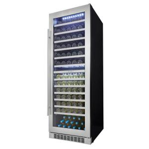 Silhouette Professional 129-Bottle Dual Zone Wine Cellar by Silhouette