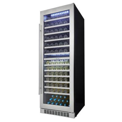 Silhouette Professional 129-Bottle Dual Zone Built In Wine ... on
